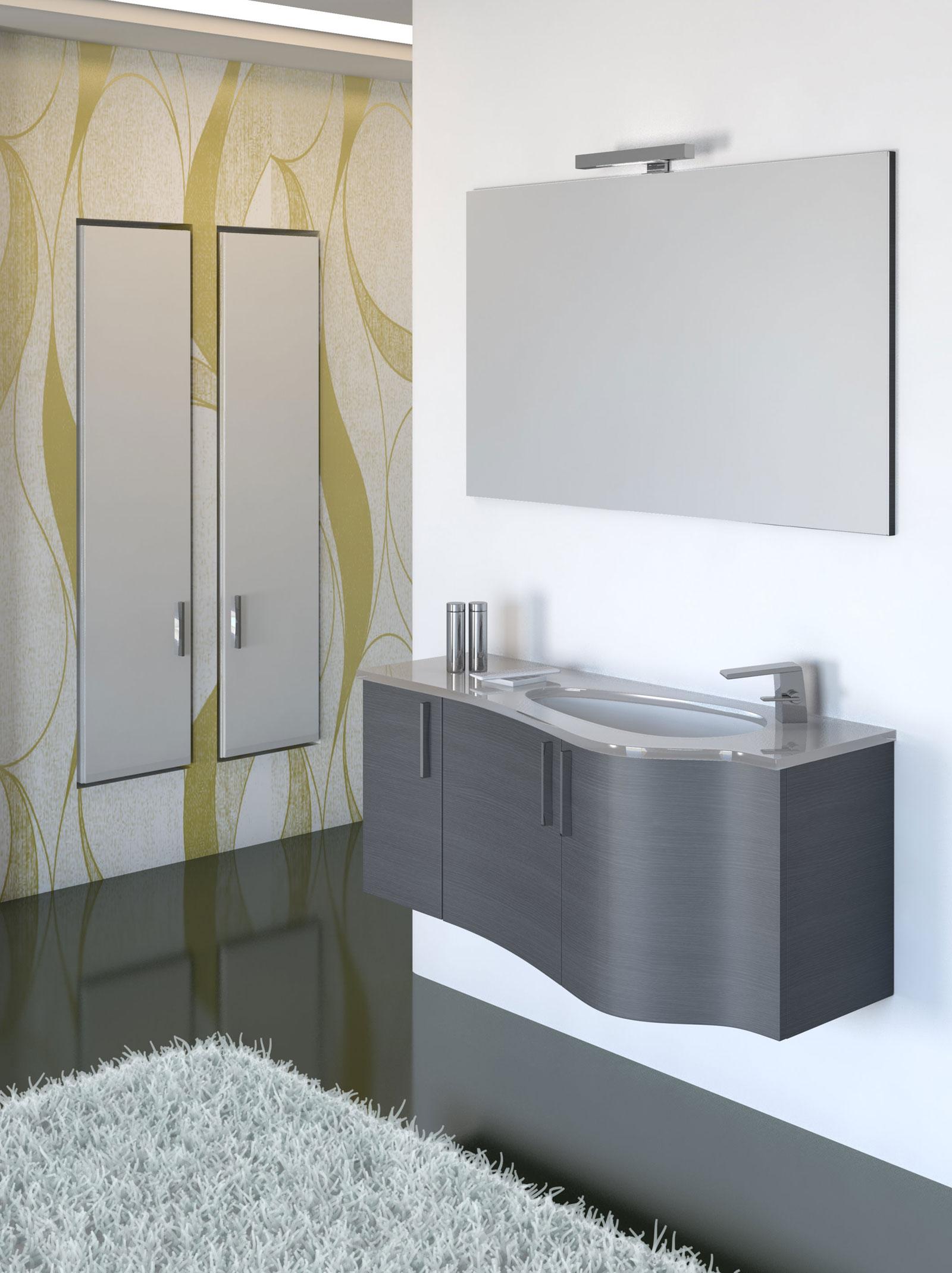 Arredo bagno design duebi italia for Produzione mobili bagno