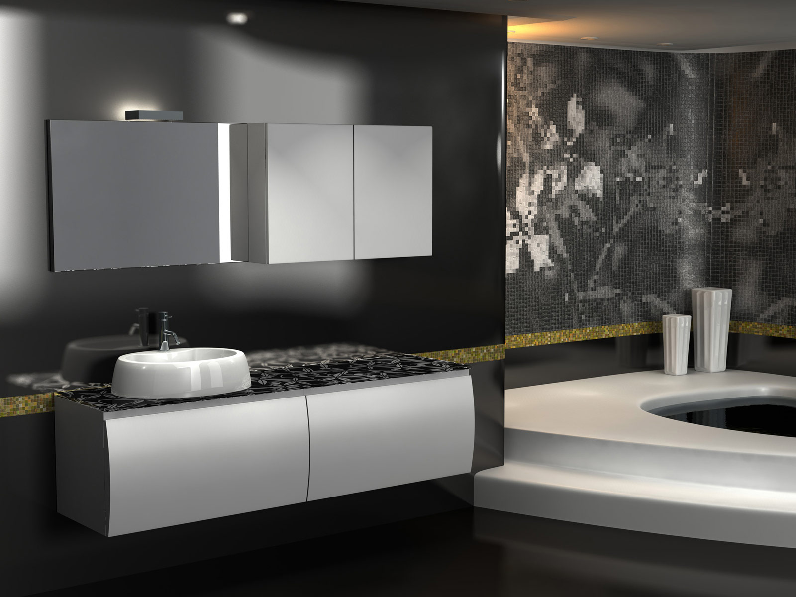 Arredo bagno design duebi italia for Design moderno