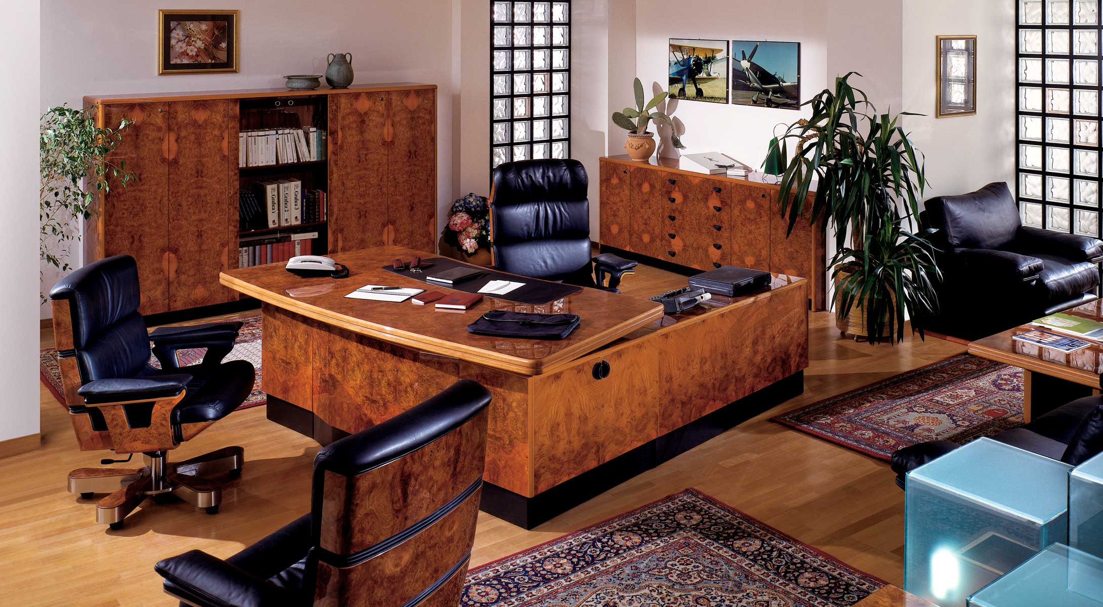 Executive and presidential luxury office r a mobili for Upscale home office furniture