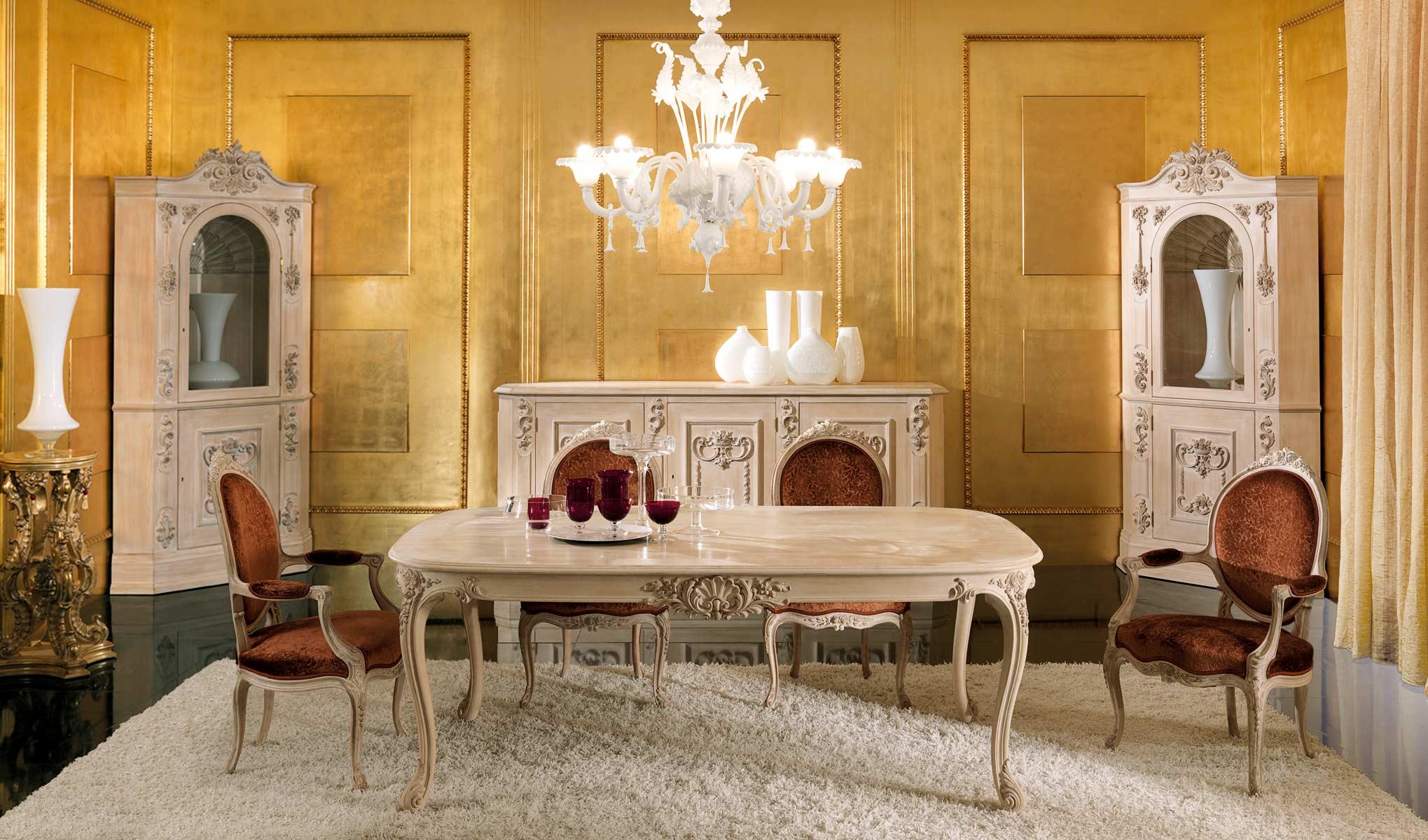 Mobili classici di lusso in stile e art dec tst for Produzione mobili classici