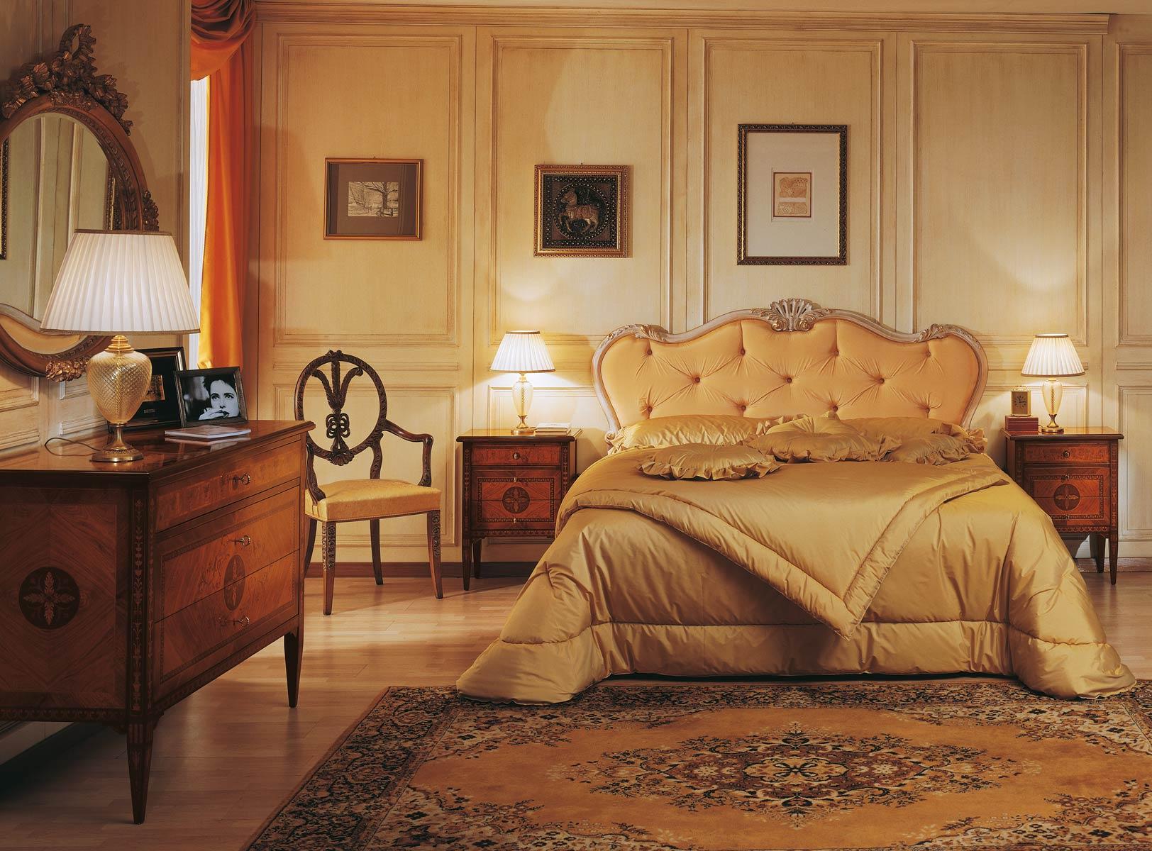Mobili classici di lusso made in italy vimercati for Mobili di design per camere da letto interne