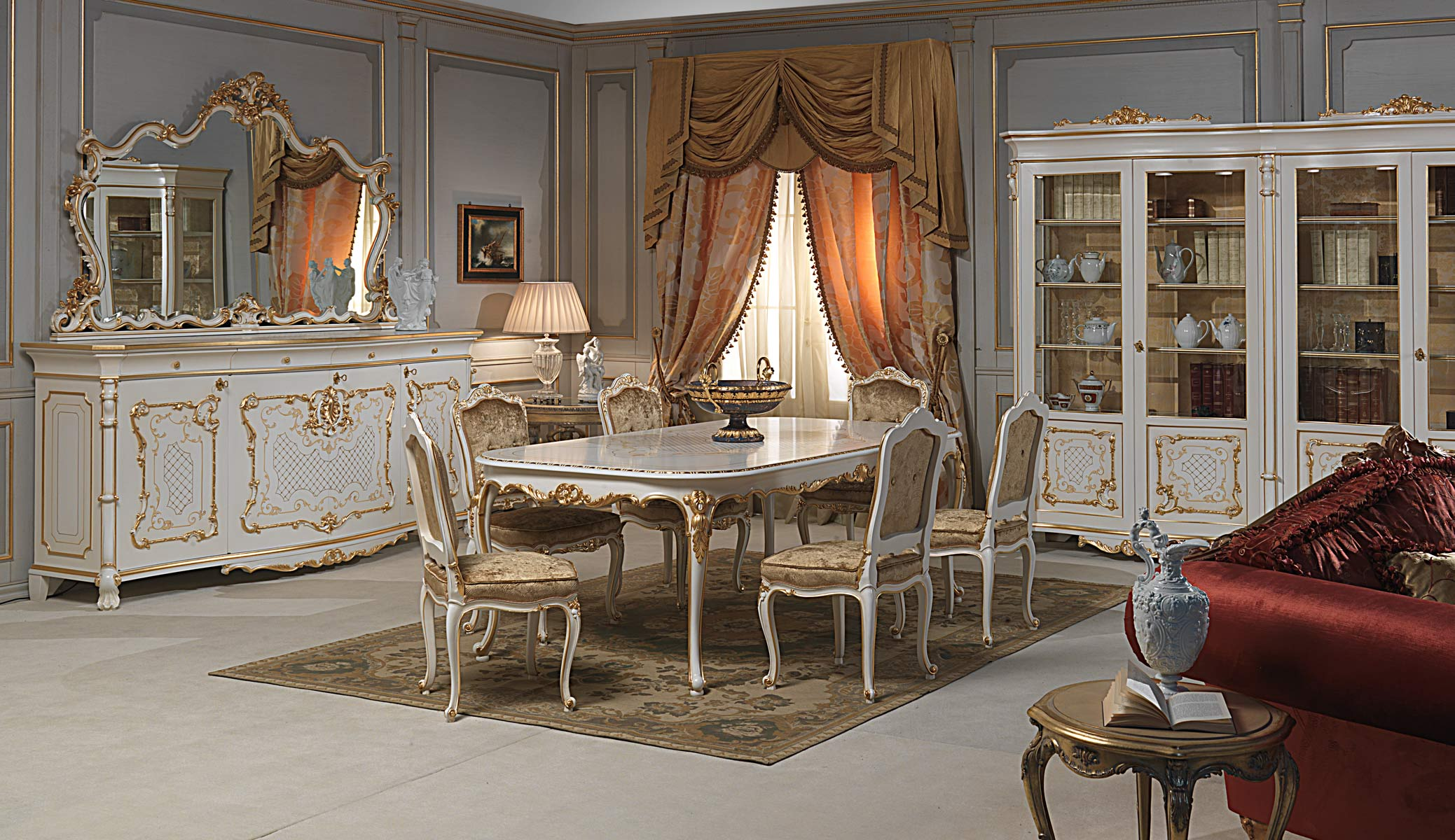 Mobili classici di lusso made in italy vimercati for Muebles de decoracion online