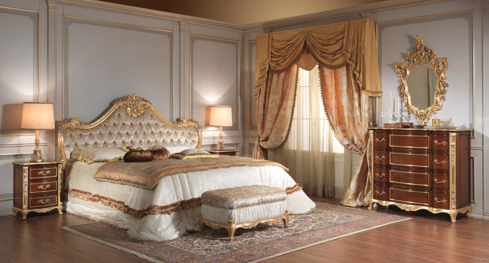 mobili classici di lusso made in italy vimercati. Black Bedroom Furniture Sets. Home Design Ideas